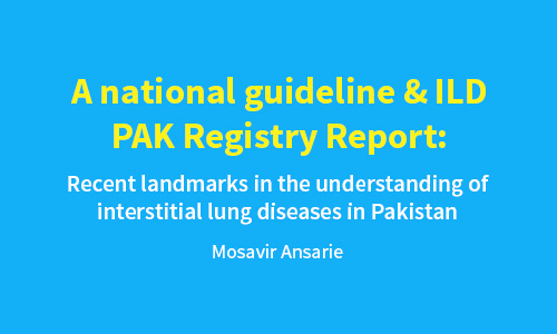 A National Guideline & ILD PAK Registry Report – JPMA Editorial Sep 2016