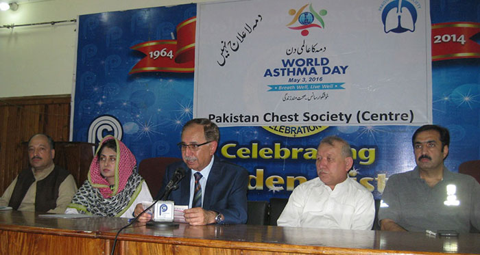 2nd May press conference to increase awareness among general population regarding asthma