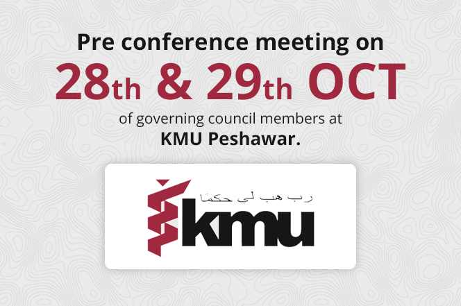 pre conference at kmu peshawar